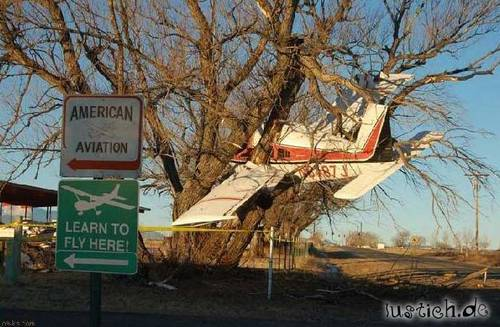 Flugzeug geparkt