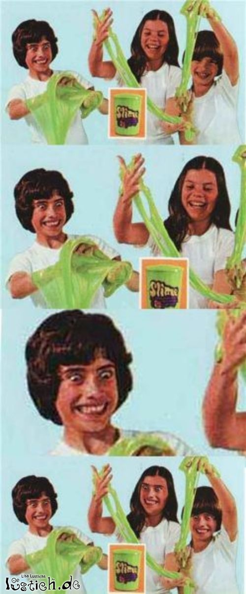 Grüner Schleim