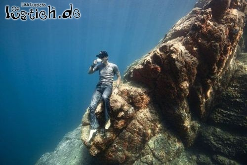 Unterwasser-Mittagspause