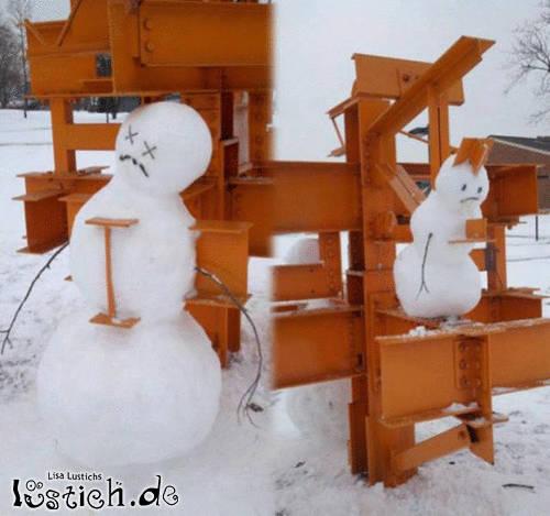 Arme Schneemänner