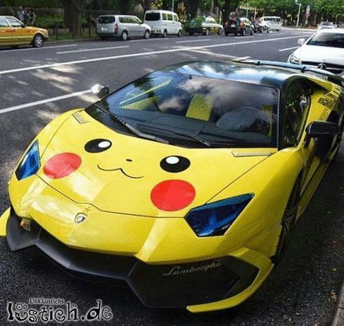 Lamborghini Pikachu