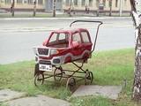 Cooler Kinderwagen