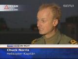 Chuck Norris bekämpft Orkan