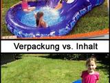 Verpackung vs. Inhalt