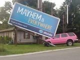 Mayhem ist überall