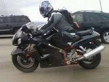 Motorrad mit Inliner