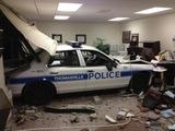 Polizeilicher Unfall