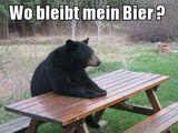 Wo bleibt mein Bier?