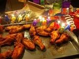 Geburtstags-Wings