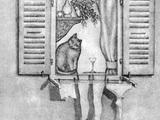 Weibliche Kunst