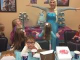 Prinzessin Elsa zu Besuch