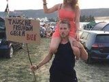 Er braucht mehr Bier