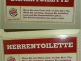 Damen- und Herrentoiletten