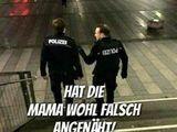 Verdrehte Polizei