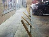 Parkplatz vor dem Schnapsladen