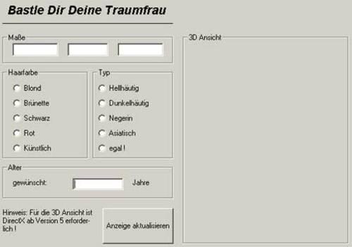 Traumfrau-Generator