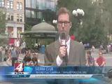 Attacke auf TV-Reporter