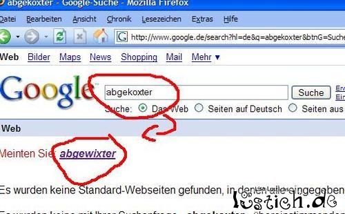 Google-Schwäche