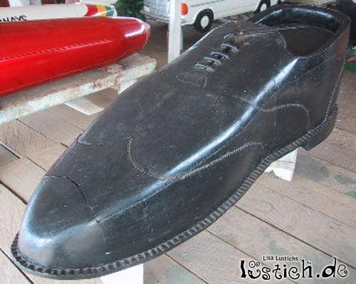Riesen Schuh