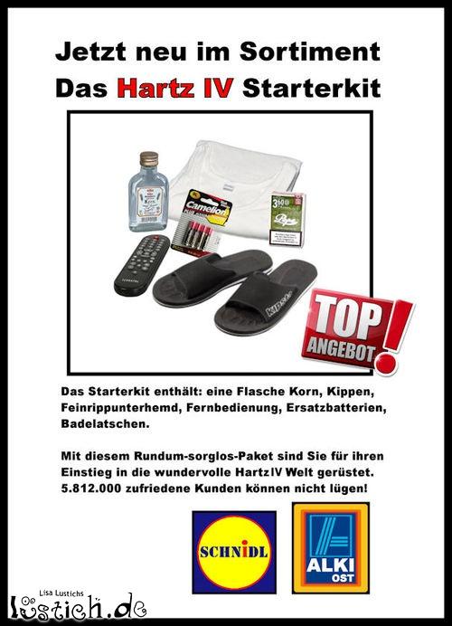 Hartz IV Starterkit