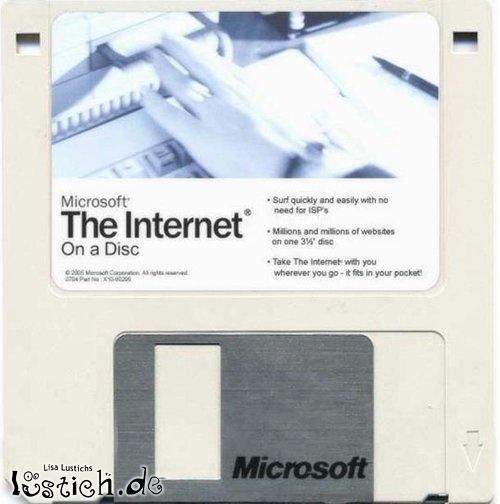 Internet-Diskette