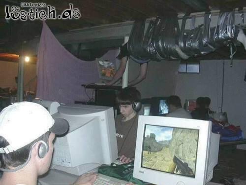 Plätzchen auf LAN-Party