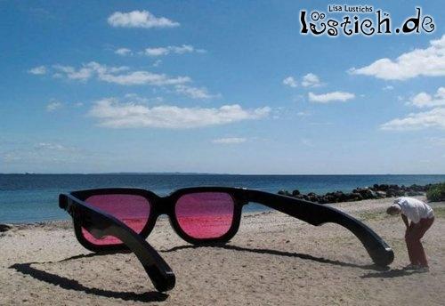 Riesensonnebrille