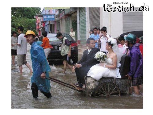 Hochzeitsrikscha