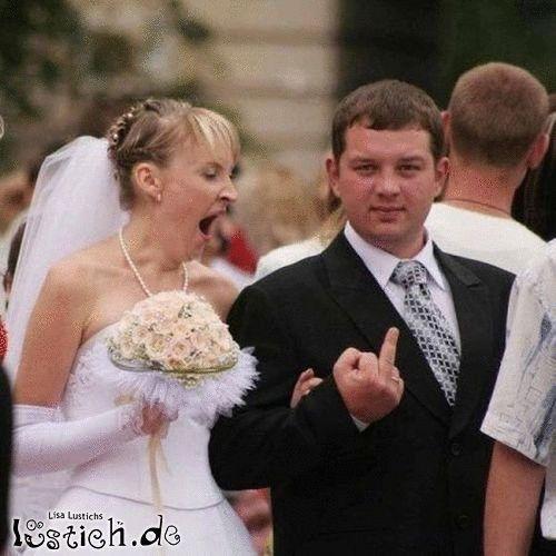 spannende Hochzeit