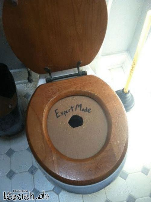 Toilette für Fortgeschrittene