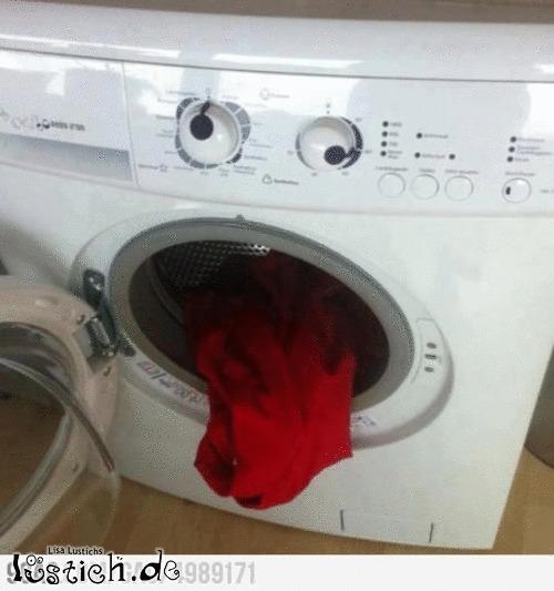 Waschmaschine ist schlecht