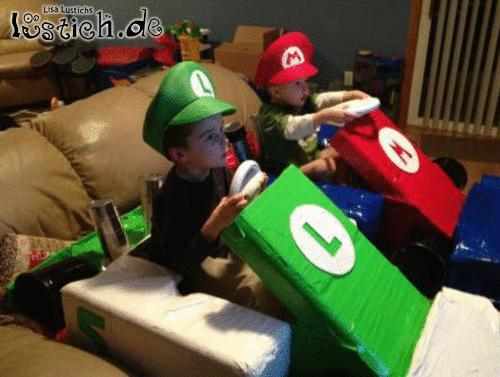 Mario Kart spielen