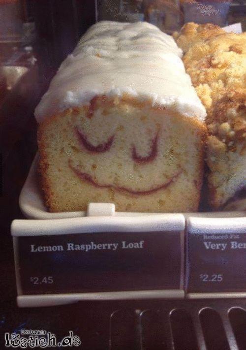 Glücklicher Kuchen