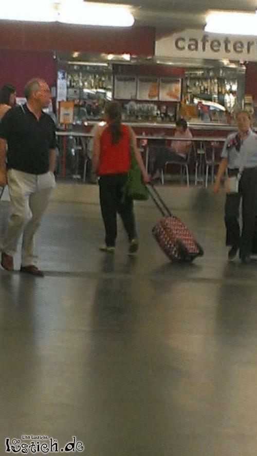 Koffer ziehen