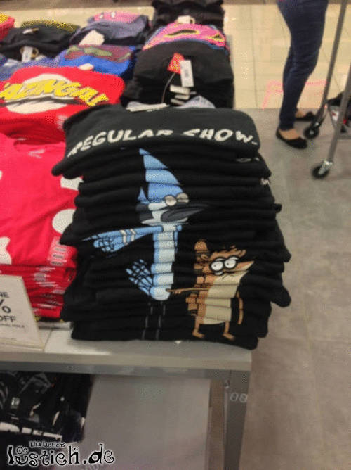 Shirts stapeln