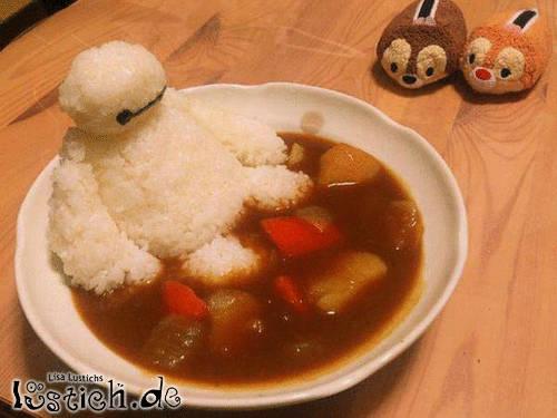 Im Essen baden