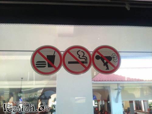 Stinken verboten
