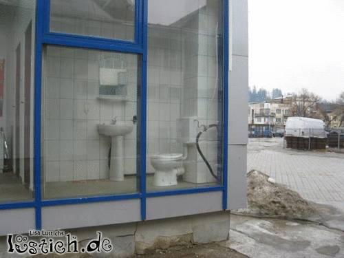 Die öffentliche Toilette