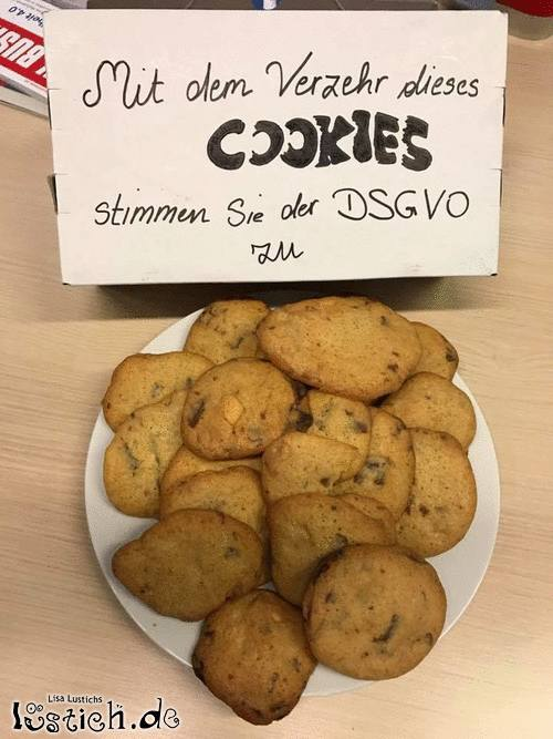 DSGVO-Cookie-Party