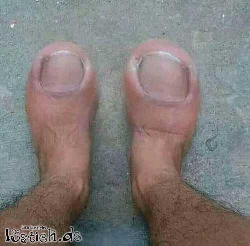 Füße photoshoppen