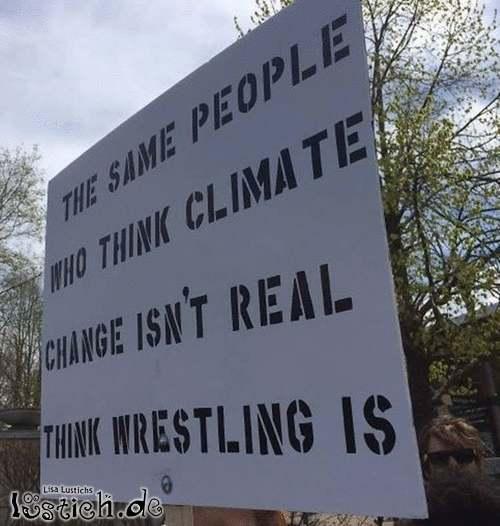 Klimaerwärmung & Wrestling