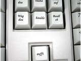 Tastatur auf Bayrisch