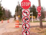 Stop nicht weiterfahren