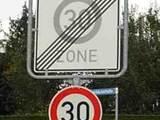 Verwirrende Schilder