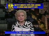 Tipp für ein langes Leben
