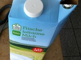 Milch öffnen