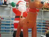 Weihnachtsmanndeko