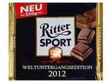 Ritter sport weltuntergangsedition 2012