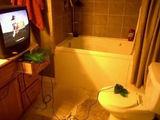 Ein cooles Badezimmer