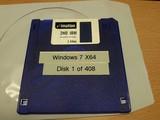 Windows 7 auf Diskette